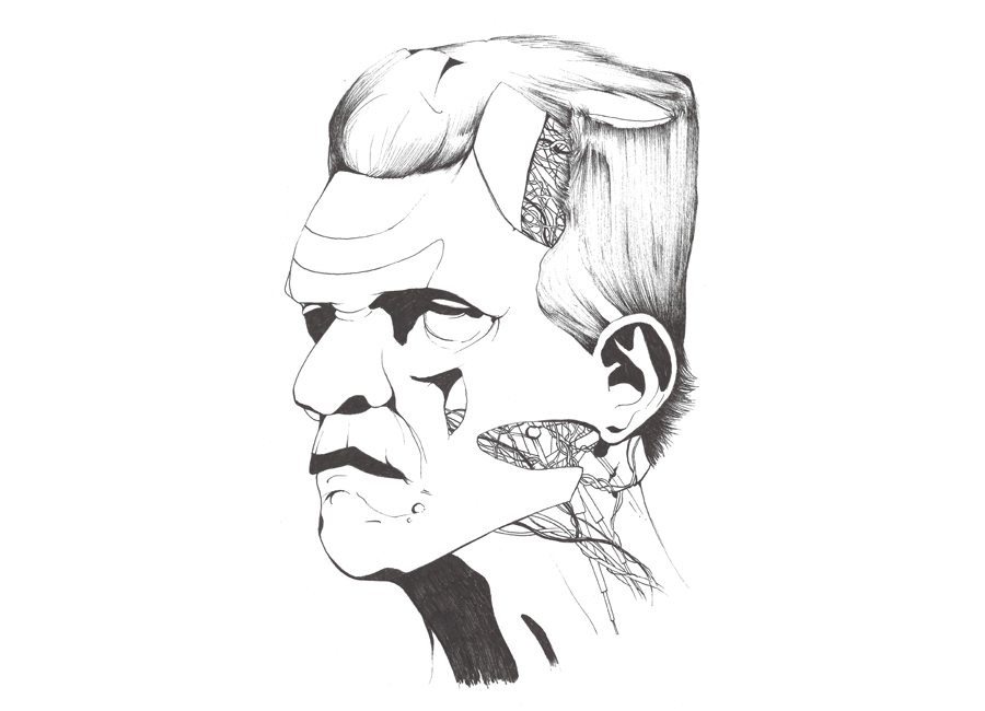 frankenstein-sketch